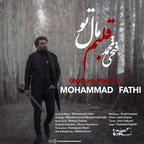 دانلود موزیک جدید محمد فتحی قلبم مال تو